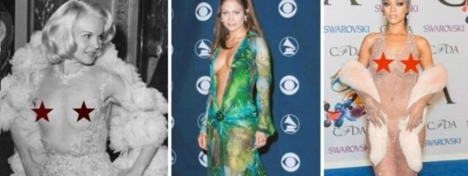 Фустани кои низ годините предизвикаа скандал во светската мода